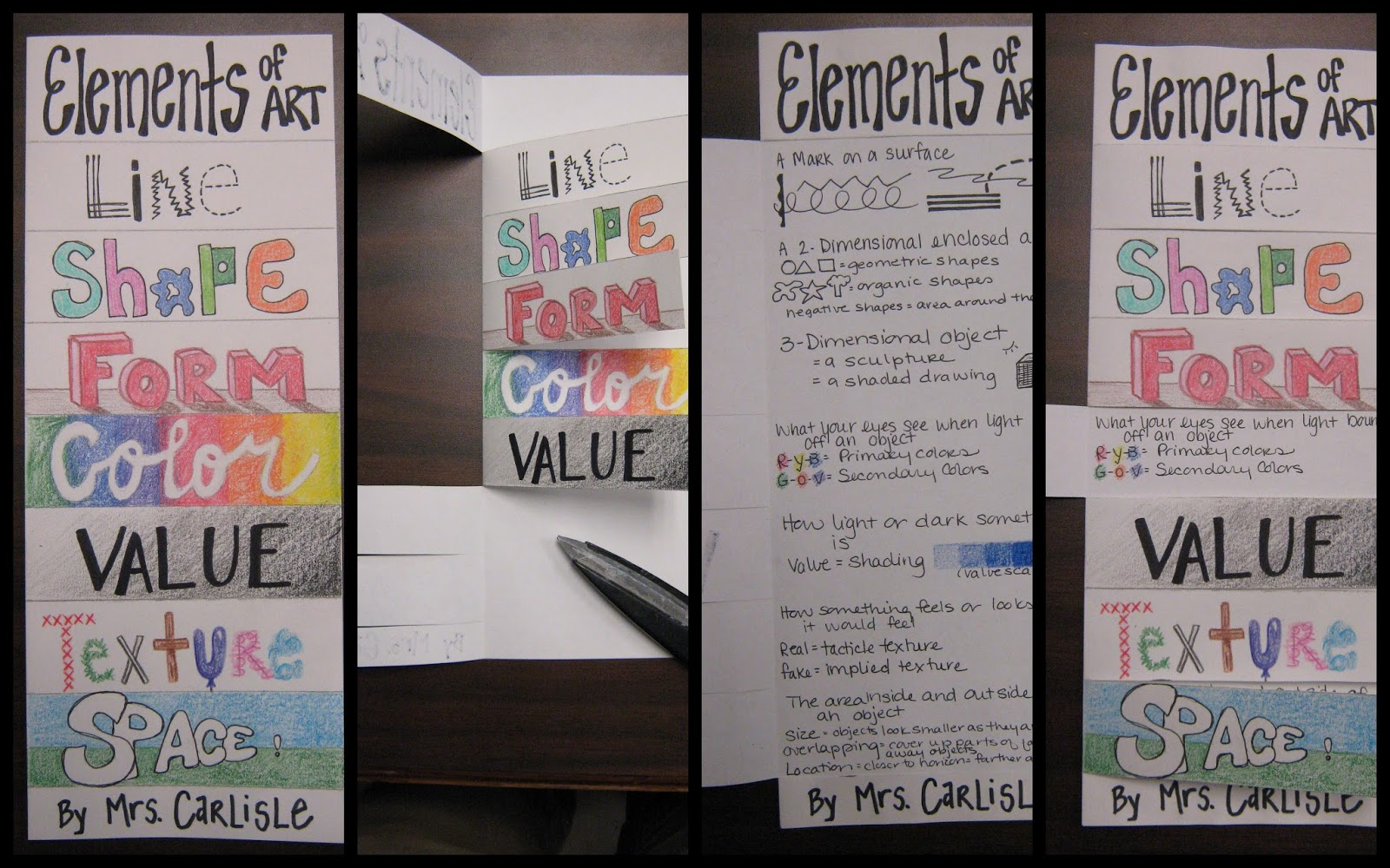 10 Elements Of Art : Art in the middle school elements of cubes