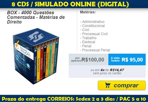 Apostila Box Comentada Direito para Concurso Público.