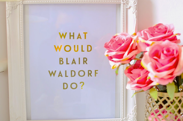 what would blair waldorf do, blair waldorf, gossip girl, homeware, cute homeware, lily rose co. interior design, pinterest