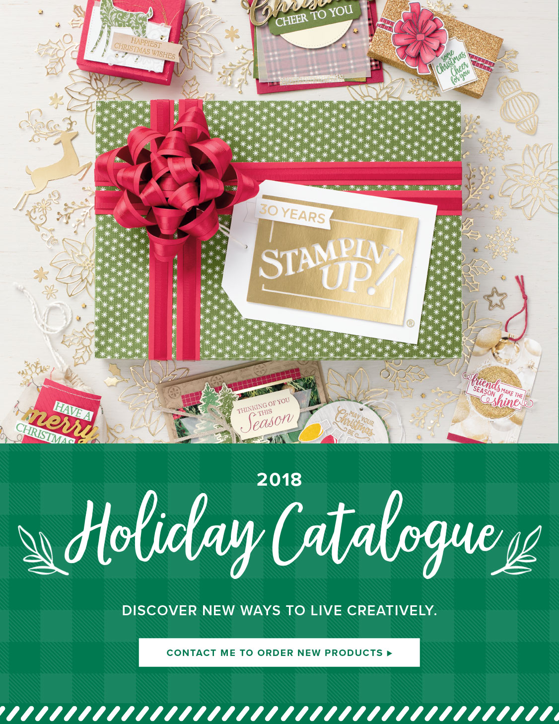 2018 HOLIDAY CATALOGUE!