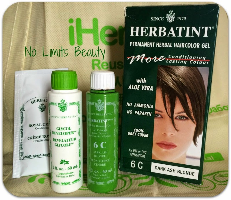 Permanent Herbal HairColor Gel - Herbatint - 6C Dark Ash Blonde