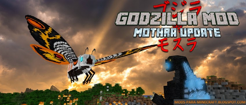 Godzilla Mod para Minecraft 1.7.10