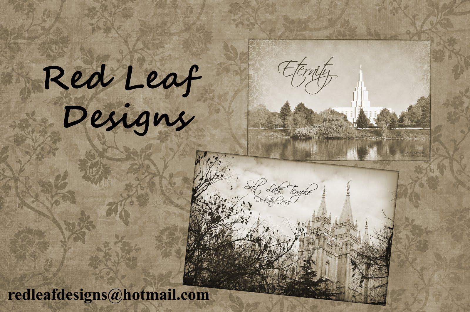 Red Leaf Designs