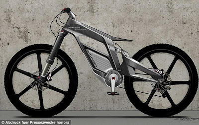 Audi Introduces Electric Bicycles Can Be Reached 80 km Per Hour