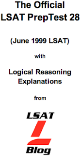 LSAT Blog PrepTest 28 June 1999 LSAT PDF