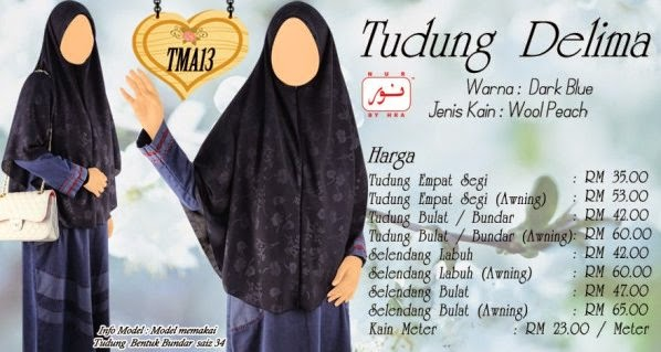 fesyen busana muslimah raya