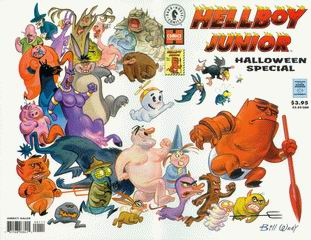 Cover of Hellboy Junior Halloween Special