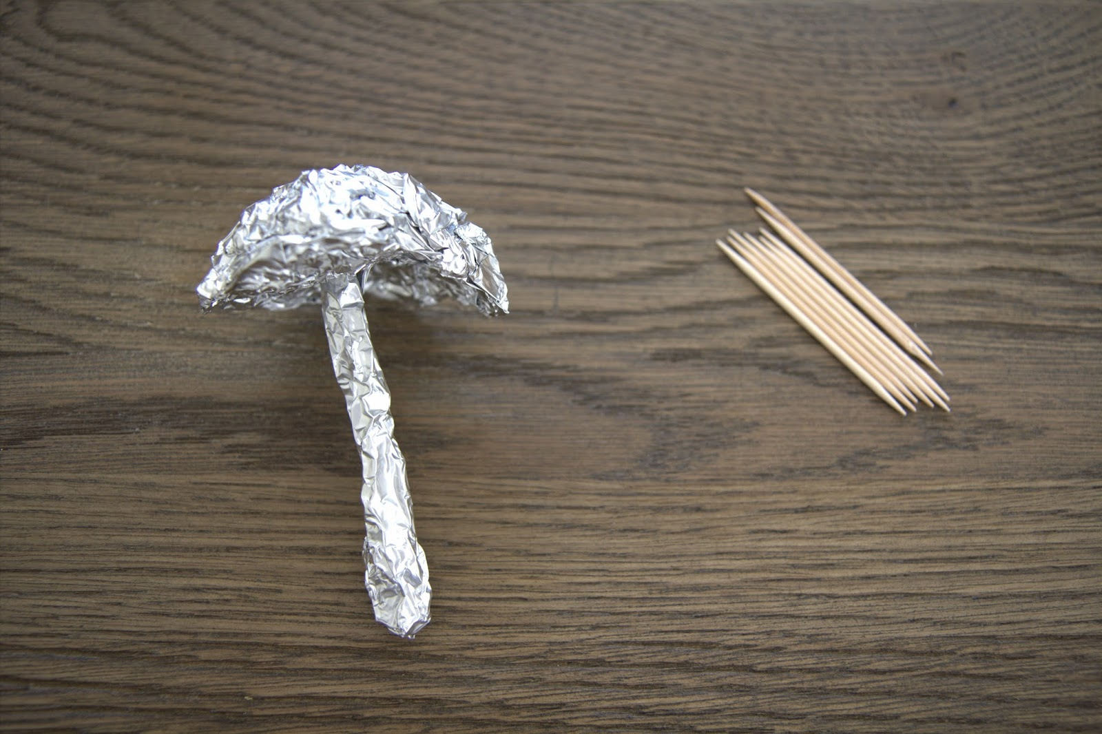 Making Paper Mache Mushrooms - DIY 8