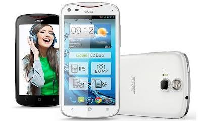 Spesifikasi Lengkap Acer Liquid E2