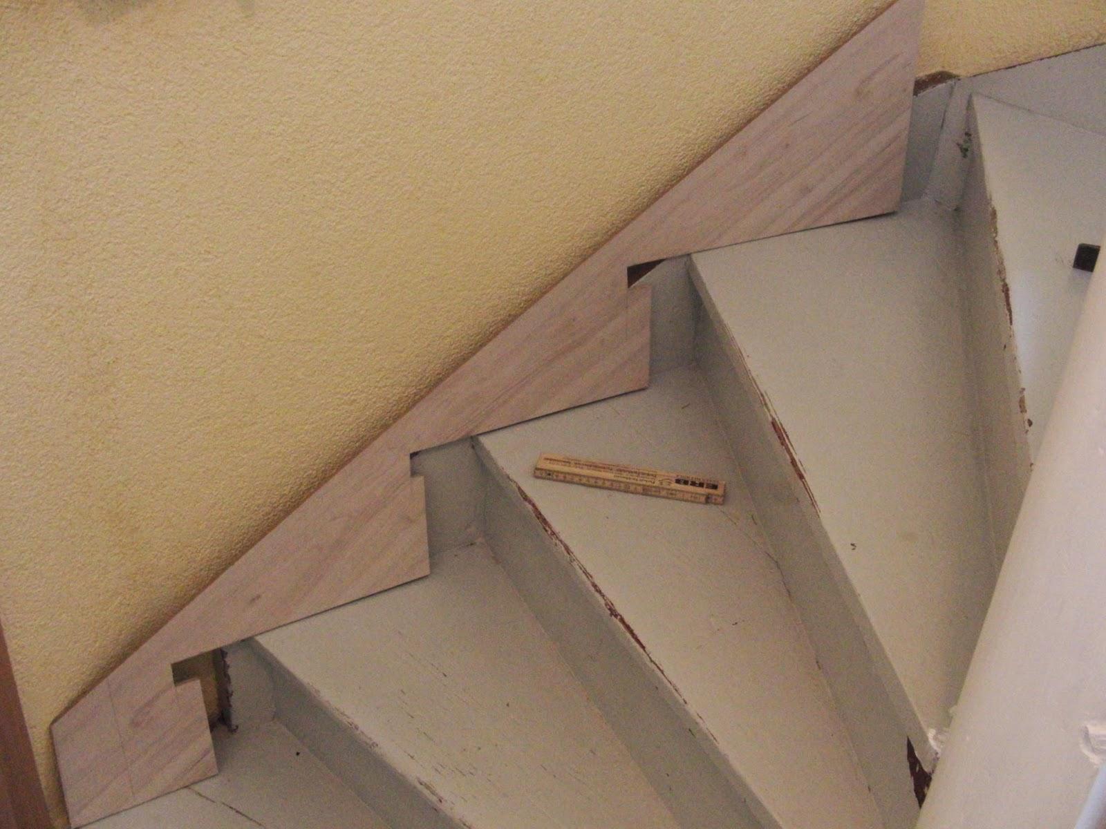 Treppengeländer Verkleiden h k treppenrenovierung treppenwange verkleiden so wird s gemacht