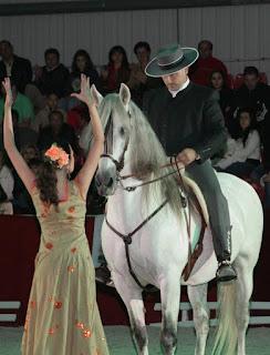 a mulher e o cavalo