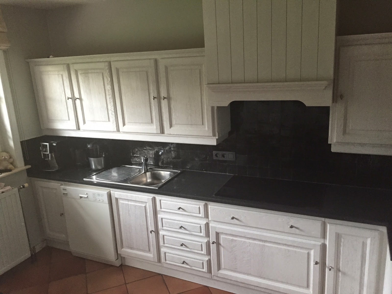 Renovatie van een eiken keuken