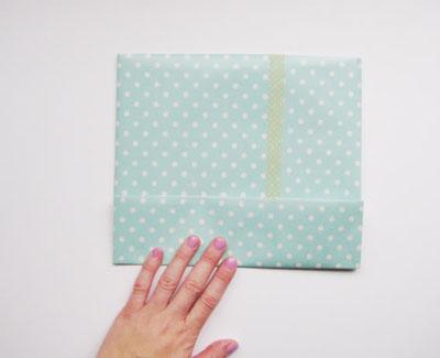Haz una bolsa de papel para regalo lodijoella - Como hacer bolsas de regalo ...