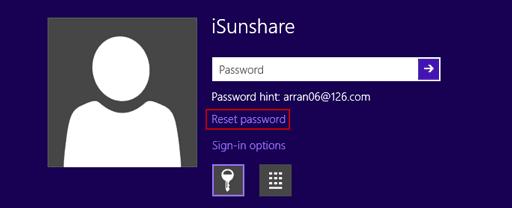 forgot password for hp laptop