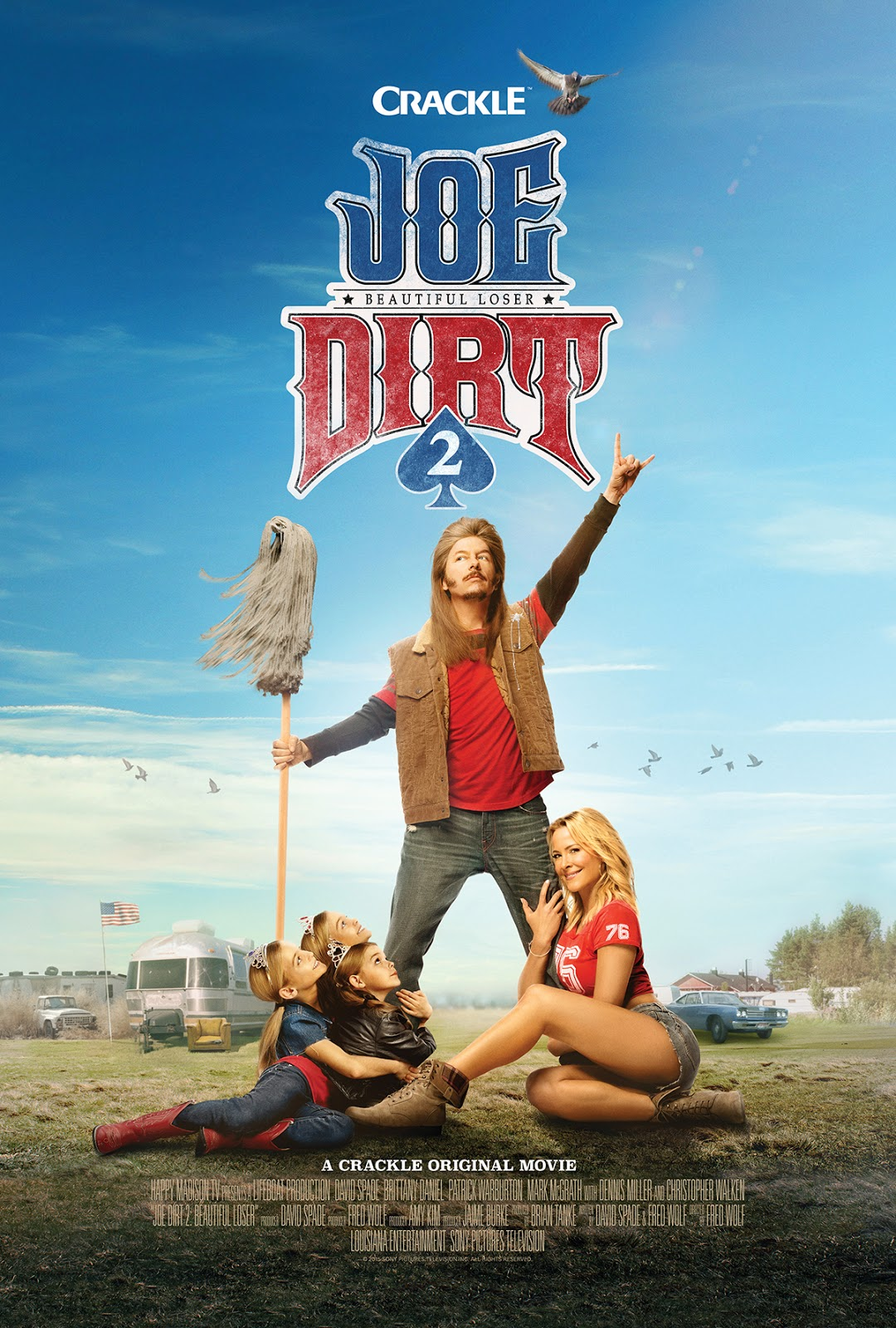 Joedirt2 Sneak Peek Clips Sandwichjohnfilms Catriona Maika Top Handle Bag Pink In This Sequel To The 2001 Cult Favorite David Spade Rules Of Engagement Returns As Mullet Wearing Rock And Roll Loving Down On His Luck