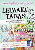 Leimailutaivas ja Helmiplaneetta® Hiekkaharjussa, Vantaalla 8.10.2016