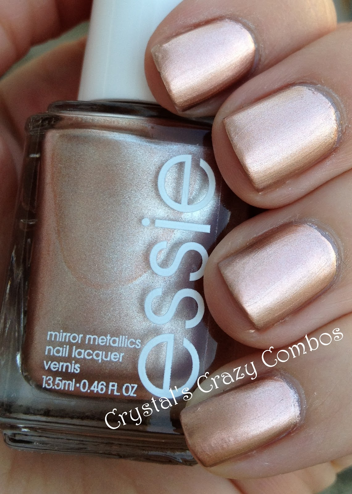 Crystal\'s Crazy Combos: Essie - Penny Talk and CrowsToes - Bunny Slope