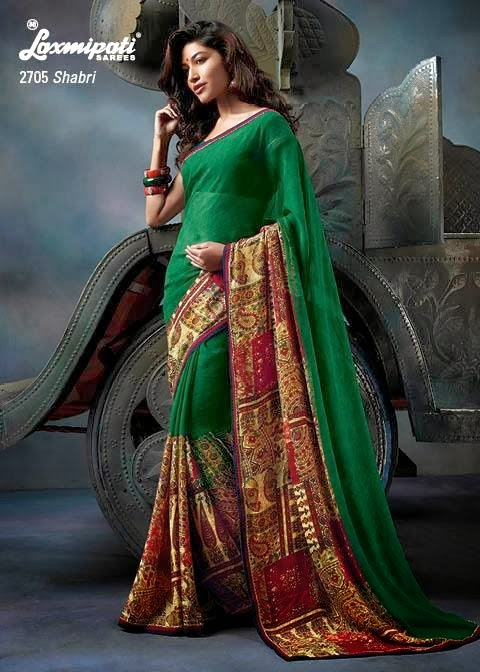 laxmipati kalamkari saree collection 2014