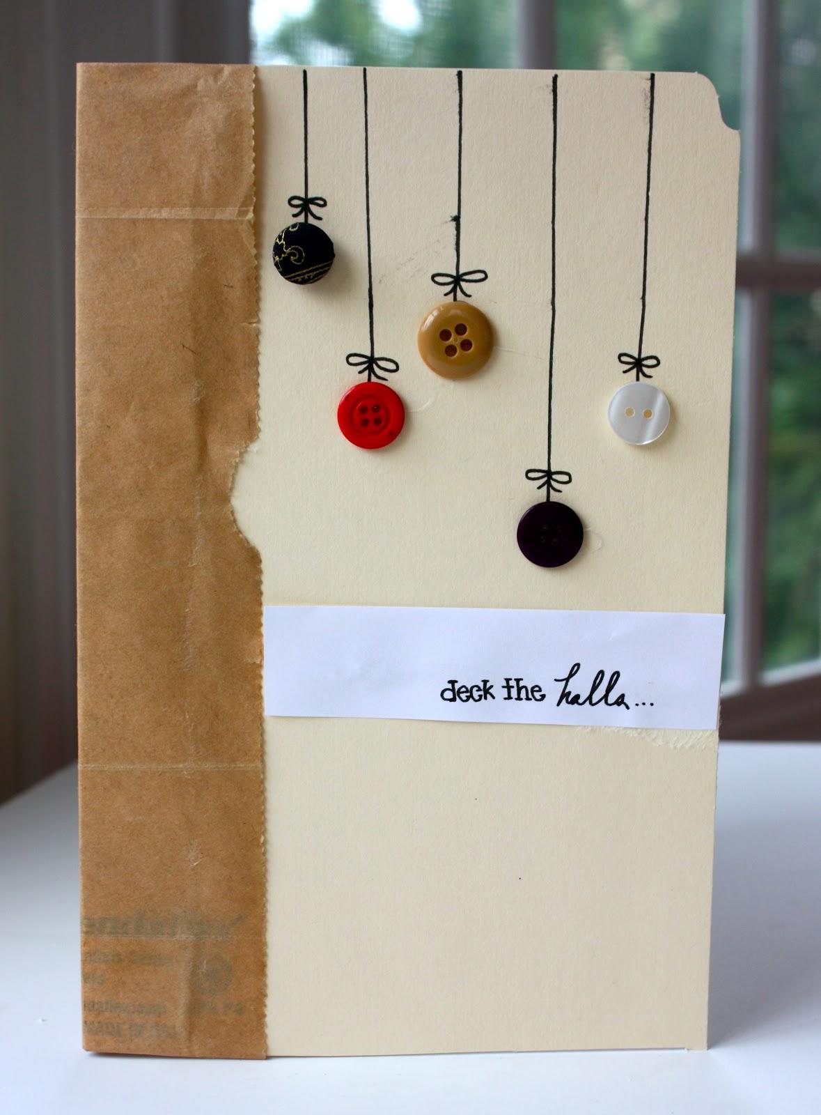everyday vita: diy button cards - Cannella Vita