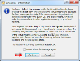 capture mouse di virtual box