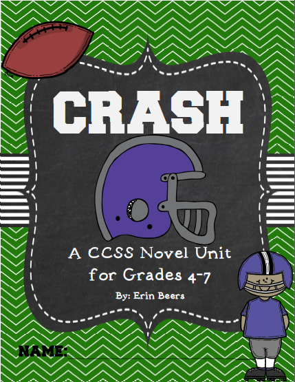 http://www.teacherspayteachers.com/Product/Crash-by-Jerry-Spinelli-CCSS-Novel-Unit-865886
