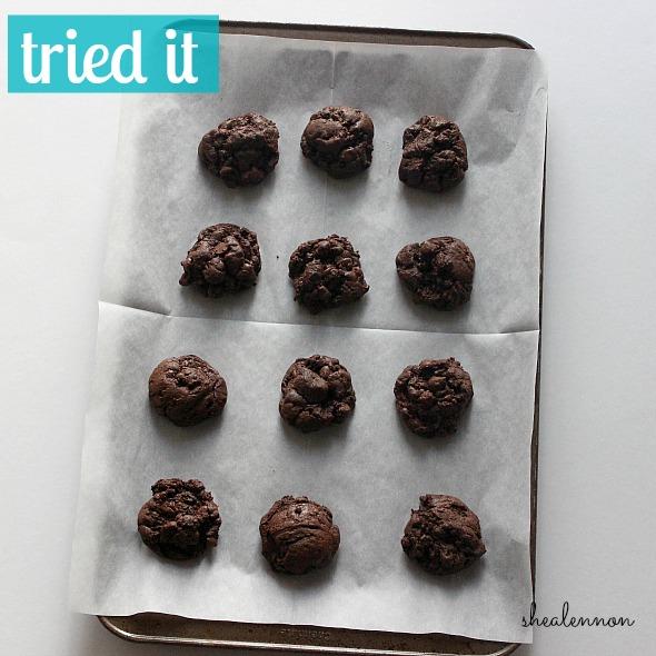 Tried it: Brownie Cookies | www.shealennon.com