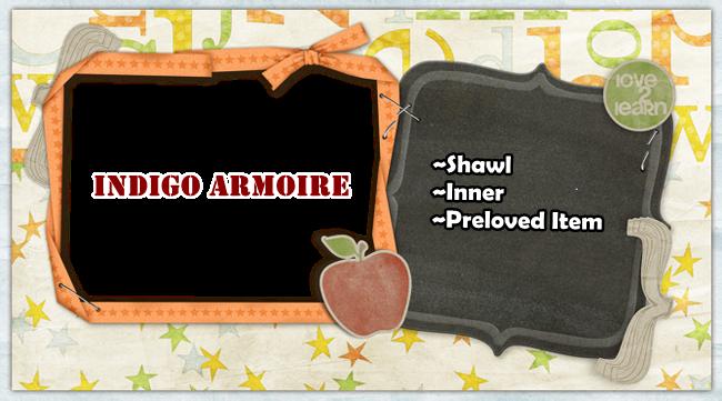 ***Indigo Armoire***