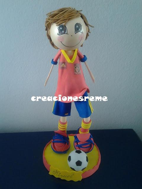 fofucha-creacionesreme-personalizadas-foami-selección –española-futbol