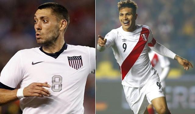 Estados Unidos vs Peru en vivo