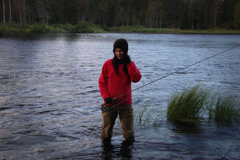 Therese Lundin, flugfiske