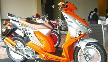 Kumpulan Foto dan Gambar Modifikasi Honda Beat dan Beat FI Keren