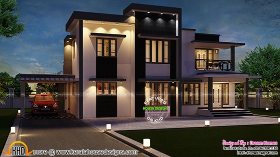 india home design in 2288 sq ft