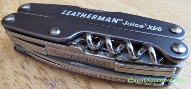Leatherman Juice XE6 Multi-Tool: Another Top View