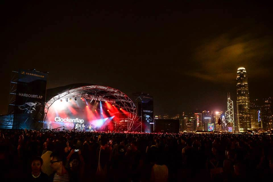 Hong Kong Music Festival Clockenflap 2014 Mogwai