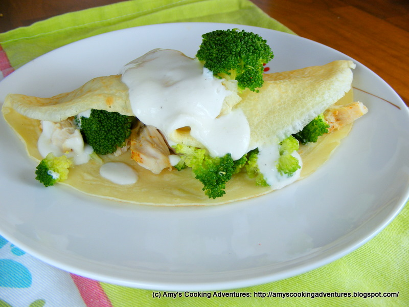 Amys Cooking Adventures Savory Crepes Chicken Divan