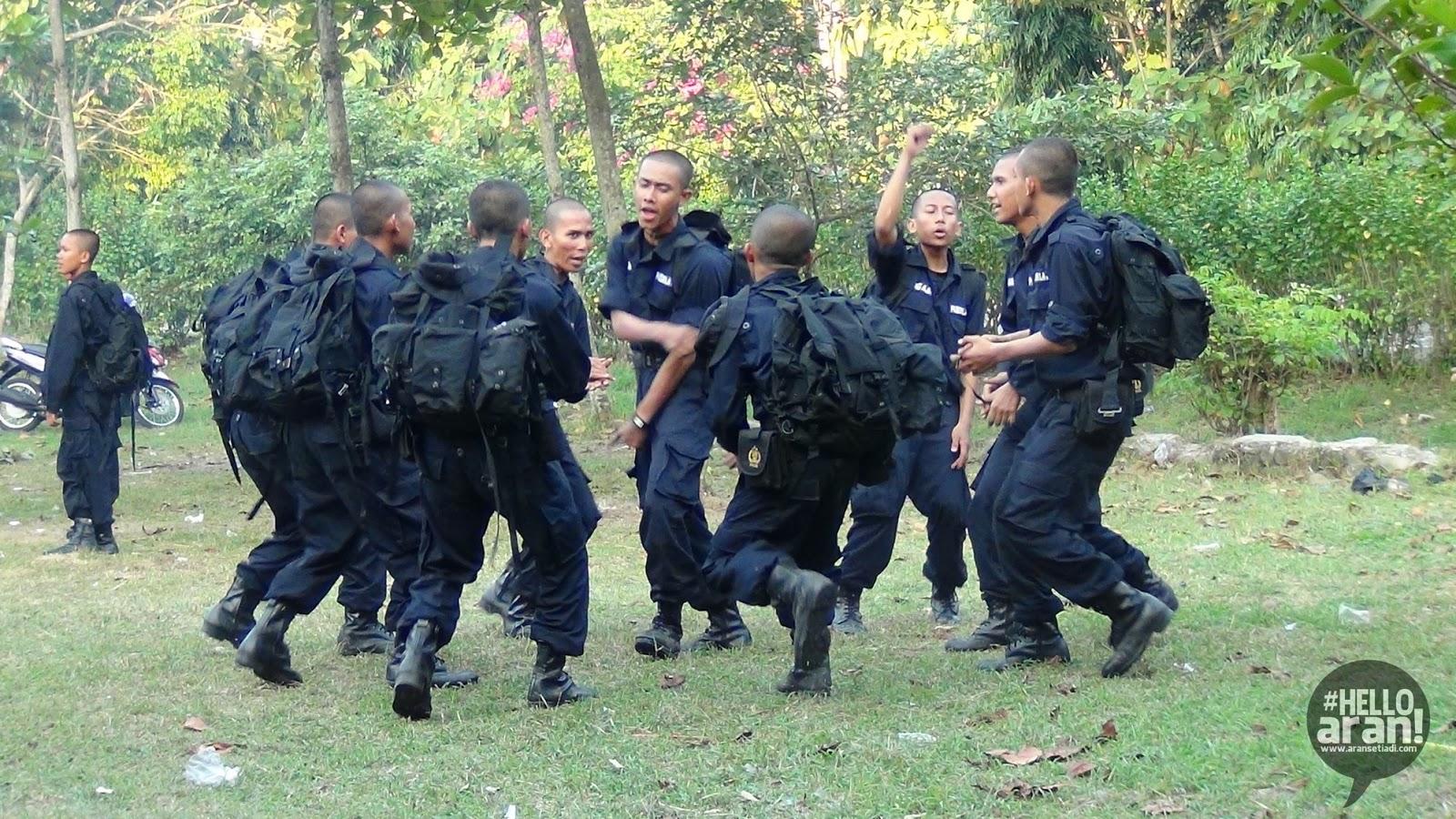 simongan, kesemaptaan, survival, prajabatan, smk angkatan 9