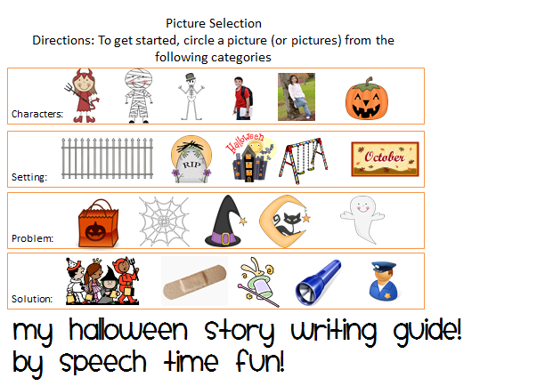 my halloween story writingtelling guide - Story About Halloween