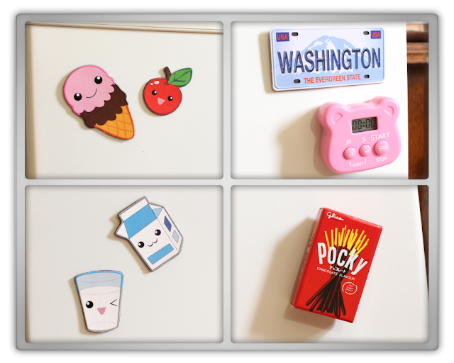 What's in my Beauty Fridge korean cosmetics skincare makeup kbeauty cute kawai refrigerator tag 11
