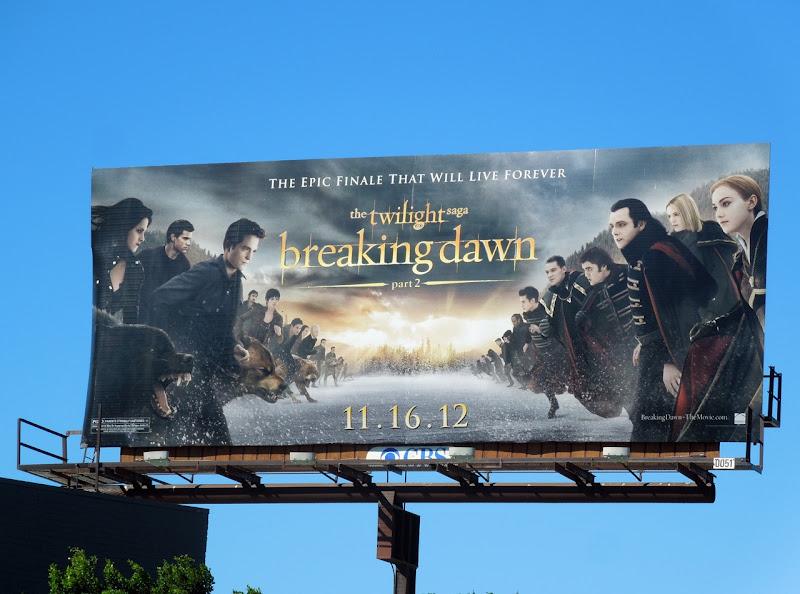 Twilight Breaking Dawn Part 2 billboard