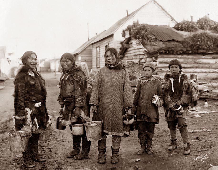 an analysis of the eskimo people in alaskan society