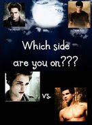 Edward vs Jacob - Twilight