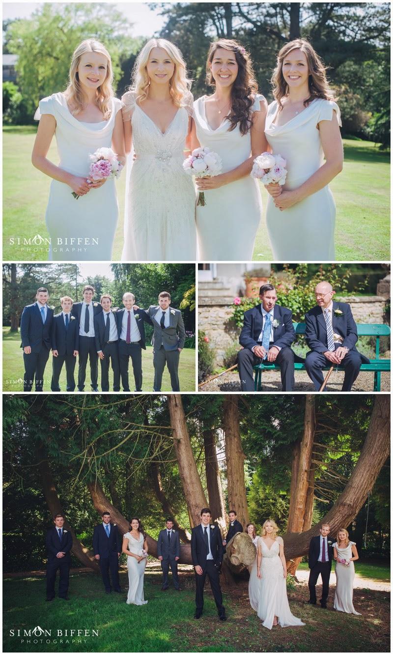Pennard House wedding group photos