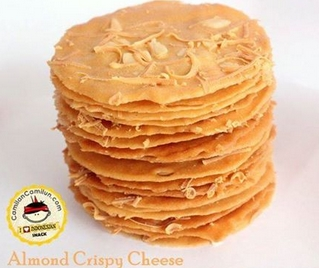 Cara Membuat Almond Crispy Cheese