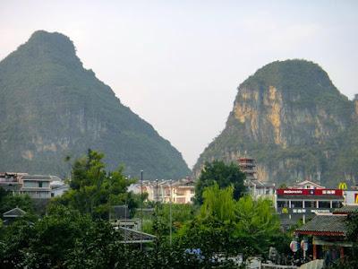 Mountains in Yangshuo China