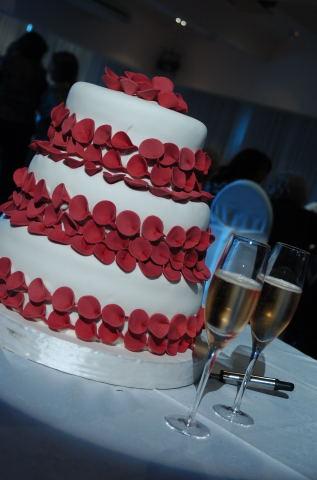 Mi torta de casamiento !!!