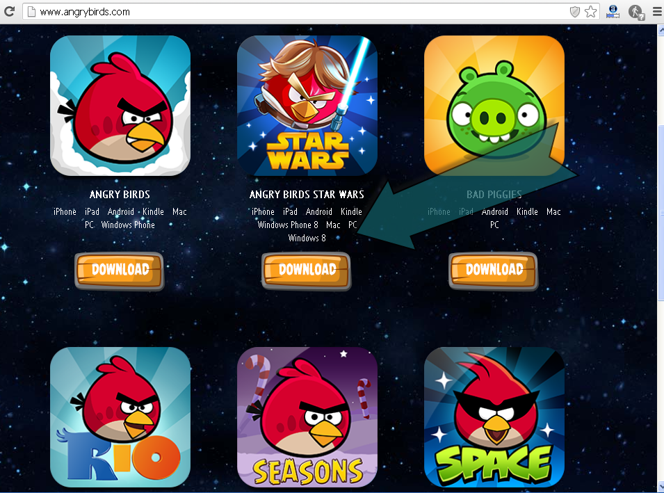 Game Angry Birds Star Wars 1.1.2 + Patch + Activation Key Untuk PC