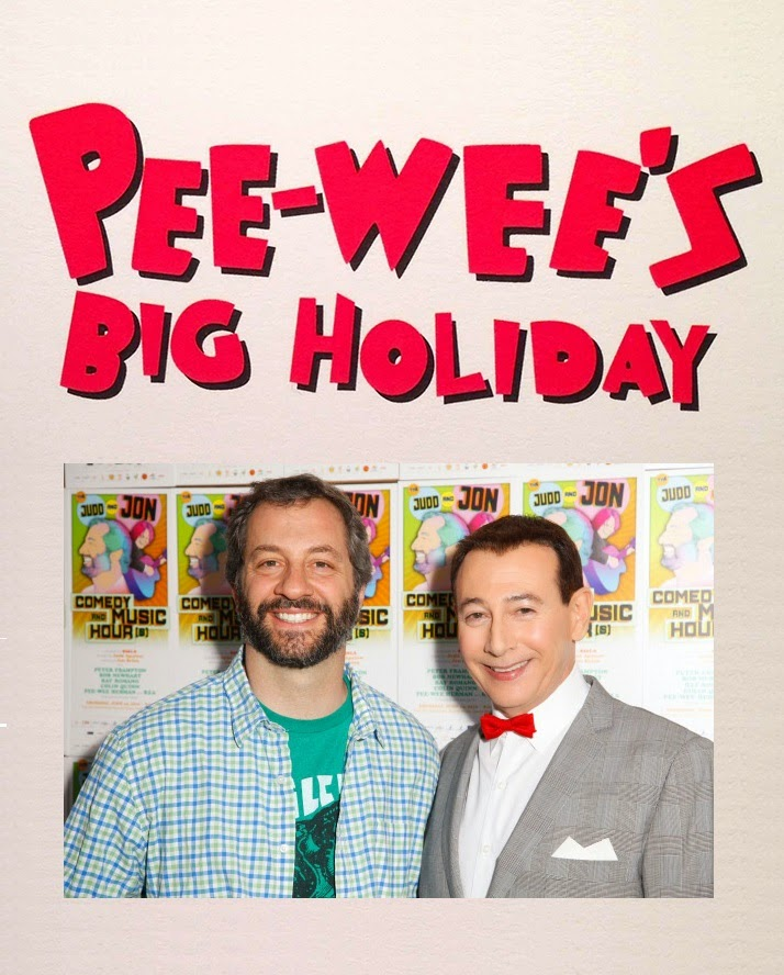 pee wee herman netflix movie