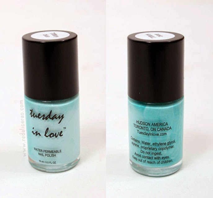 Tuesday in Love, Tiffany Blue, Beauty product, halal nail polish, water permeable nail polish, halal or not, beauty blog, fashion and beauty blog, pakistani beauty and makeup blog, redalicerao, red alice rao, blogspot, makeup, nail polish,