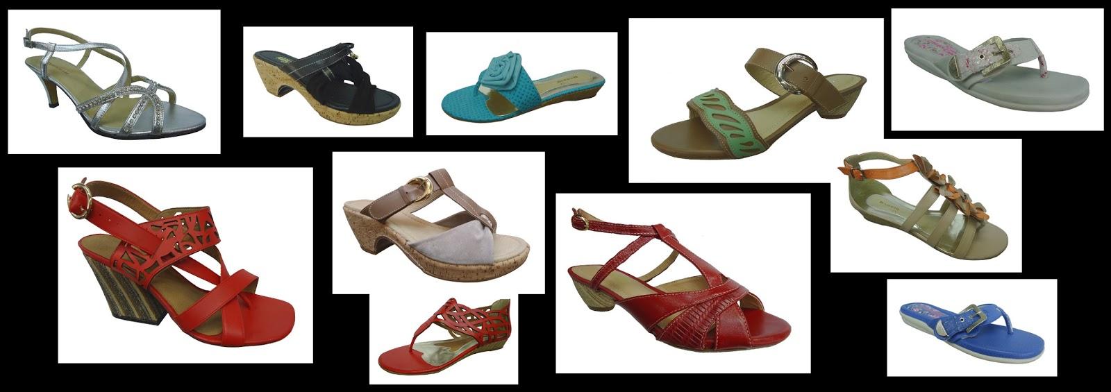 fed4190f9b Modelos de sandálias e tamancos tamanhos grandes!