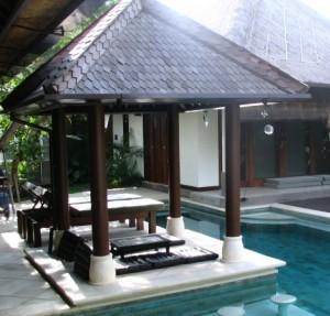 model gazebo dari kayu kelapa